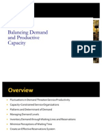 Balancing Demand and Capacity