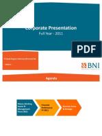 BBNI Corporate Presentation FY2011 Des FINAL PRINT1