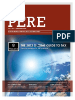 Taxand PERE 2012 Global Guide to Tax
