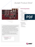 p240 Analog Module-pb092506