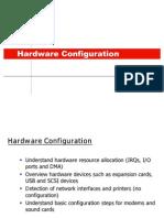 20.1.Configuration Hardware