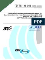 ETSI TS 148 058