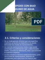 MANEJO DE CÉSPEDES CON BAJO CONSUMO DE AGUA (parte 2)