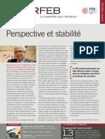 Perspective et stabilité, Infor FEB 7, 1 mars 2012