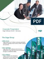 Sage Company Presentation