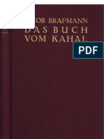 Brafmann, Jacob - Das Buch Vom Kahal - 1. Band (1928, 292 S., Text)