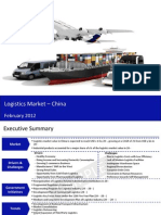 Market Research Report :Logistics Market in China 2012