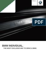 Catalogue Bmw Individual m3 En