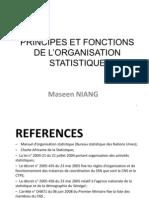 PRINCIPES ET FONCTIONS DE L'ORGANISATION - R