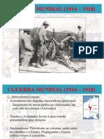 I Guerra Mundial Parte 1