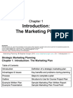 MktgPlng PPT Chap1 Plan Outline v1