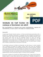Unidade de Call Center de Campina já começa a funcionar em abril