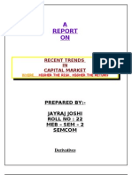 Report on Capital Market