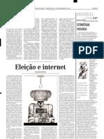 Artigo Alexandre Atheniense Eleicao e Internet EM 24092002