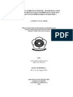 PERILAKU SAMBUNGAN KOLOM – BALOK BAJA COLD-FORMED MENGGUNAKAN KOMBINASI FLANGE DAN GUSSET PLATE BERDASARKAN EUROCODE 3