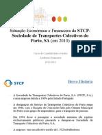 Situação Económica e Financeira da STCP