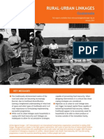 RURAL-URBAN LINKAGES - Guatemala