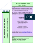 Becoming Your Best Newsletter - February 2012
