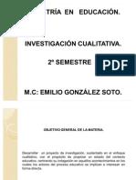 maestria materia investigación cualitativa diapositivas