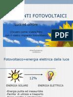 Presentazione Impianti Fotovoltaici 3 Conto Energia