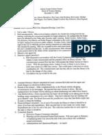 Board Minutes 12172009