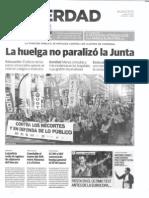 Huelga 29 Febrero 2012 La Verdad