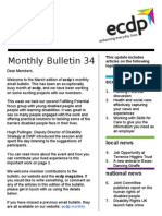 ecdp Email Bulletin 34