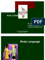 Body Language Pptx