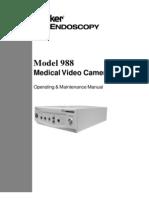 988 Camera Manual