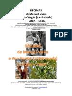IACD Congresso Alentejo 1985 - ANEXO - DÉCIMAS de Manuel Vieira e Maria do Rosário 1840