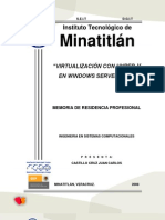 Reporte Final (CACJ) - Virtualizacion con Hyper-V (Virtualization with Hyper-V)