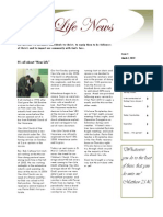 New Life News Issue 1