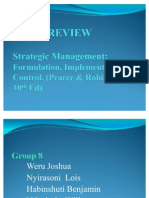 Strategic Management(1 4)