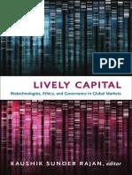 Lively Capital edited by Kaushik Sunder Rajan