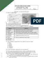 Ficha formativa 1 - 7 ano - organização dos seres vivos na biosfera