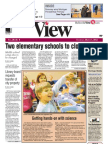 Belleville View front page