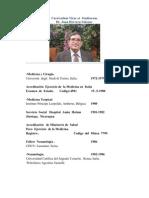 Curriculum Vitae  et  Studiorum    Dr.  Juan  Herrera  Salazar