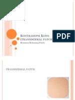 Kontrasepsi Koyo (transdermal patch)
