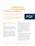 Rod Load Calculations and Def Int Ions for Reciprocating Compressor Monitoring