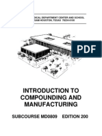 US Army Medical Course MD0809-200 - Introduction to Compounding and Manufacturing