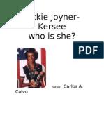 Jackie Joyner-Kersee by Carlos Calvo