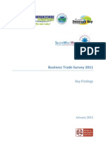 Trade Survey 2011 Key Findings Document