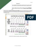 Ejercicio 3. Excel