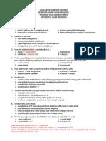 Pembahasan Ujian Akhir Semester Biokimia 2011