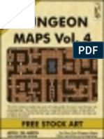 Dungeon Maps Vol #4