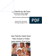 The Family Is Of God (Spanish)