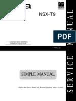 Aiwa NSX-T9 service manual