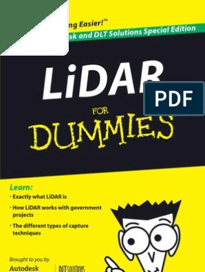 LiDAR for Dummies | Lidar | Surveying