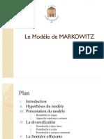 Modèle de MARKOWITZ