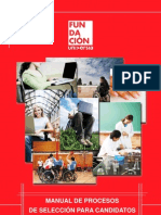 Manual de procesos de seleccion para candidatos